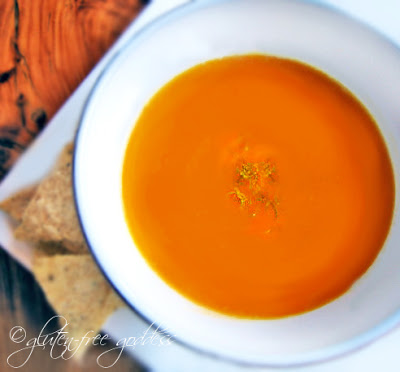 Pumpkin Sweet Potato Soup Gluten Free Goddess
